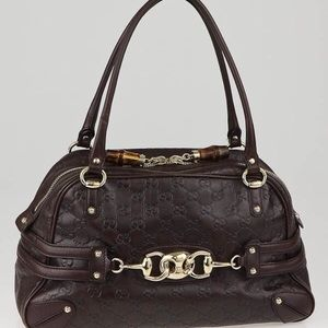 Gucci Guccissima Leather Wave Boston bag